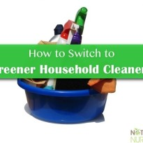 green natural household cleaners