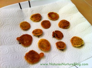 dandelion flower fritters recipe
