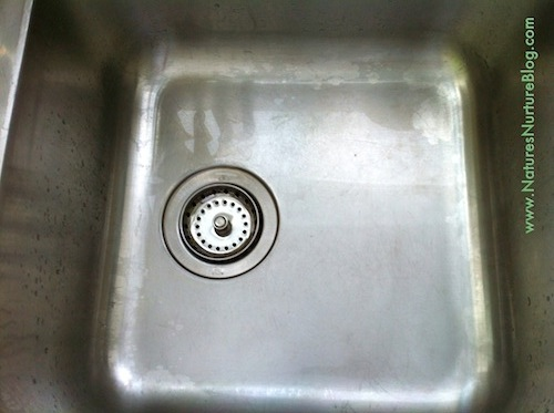 Image result for how to make stainless sink look new again