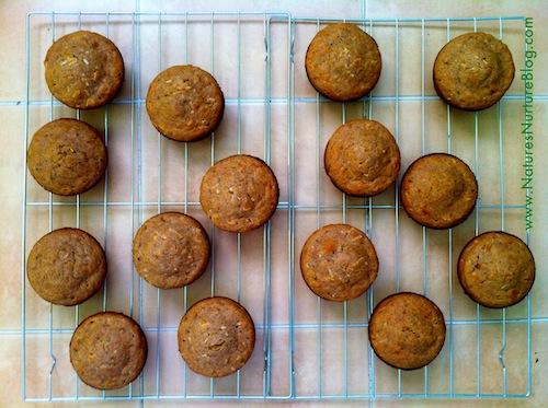 dandelion blossom muffins