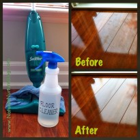 Natural Homemade Floor Cleaner