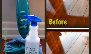 This Homemade Floor Cleaner Doubles as the BEST All-Purpose Cleaner!