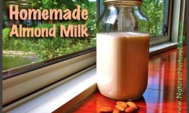 Homemade Almond Milk (+ Almond Meal)