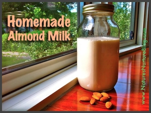 Homemade Almond Milk (+ Almond Meal) - Nature's Nurture