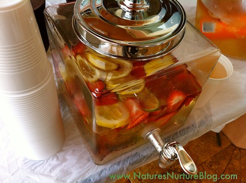 homemade vitamin water