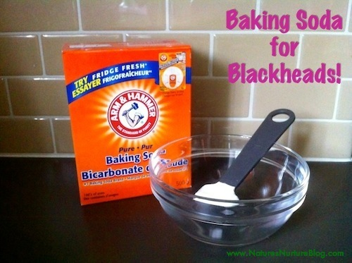 How to Use Baking Soda for Blackheads - Nature's Nurture