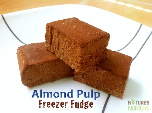 Almond Pulp Freezer Fudge