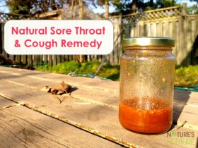 Natural Sore Throat &amp; Cough Remedy