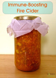 Fire Cider for Cold and Flu Season