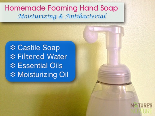 Homemade Foaming Hand Soap