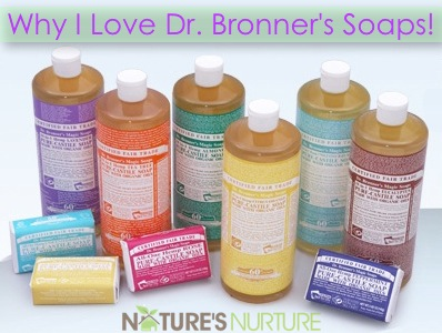 Ways to Use Dr. Bronner's Castile Soap