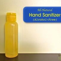 Homemade Natural Hand Sanitizer (Alcohol-Free)