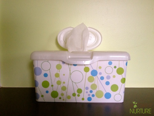 Homemade Natural Baby Wipes
