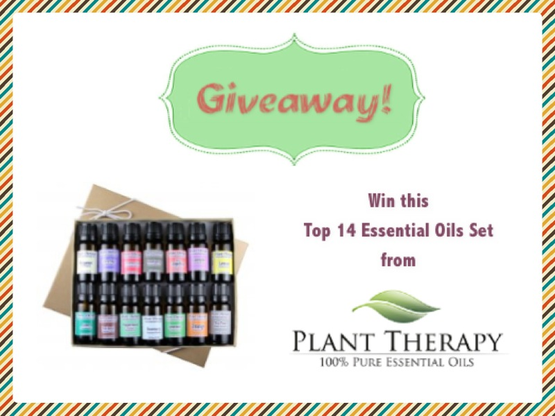 Plant Therapy Essential Oils Giveaway