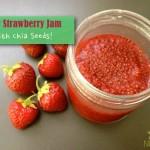 Raw Strawberry Chia Seed Jam
