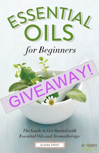 Essential Oils for Beginners Book Review Giveaway