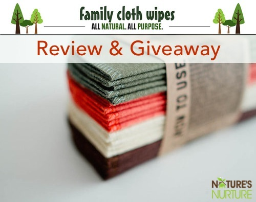Family Cloth Wipes Review and Giveaway