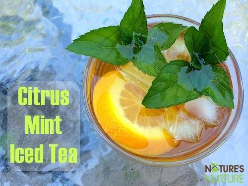 Citrus Mint Iced Tea