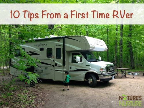 RV Camping Tips From a First Time RVer