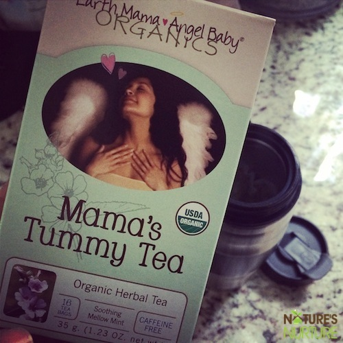 Tea Time with Earth Mama Angel Baby Teas