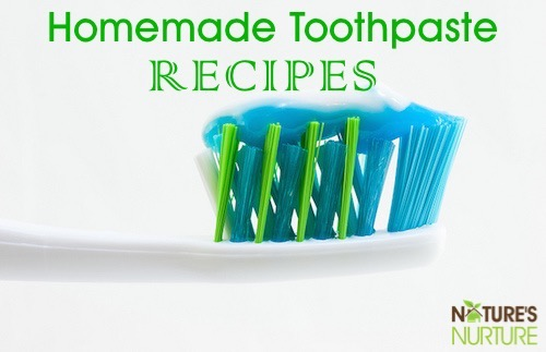 Homemade Toothpaste Recipes