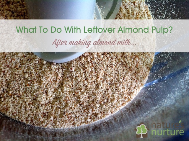 Ways to Use Leftover Almond Pulp