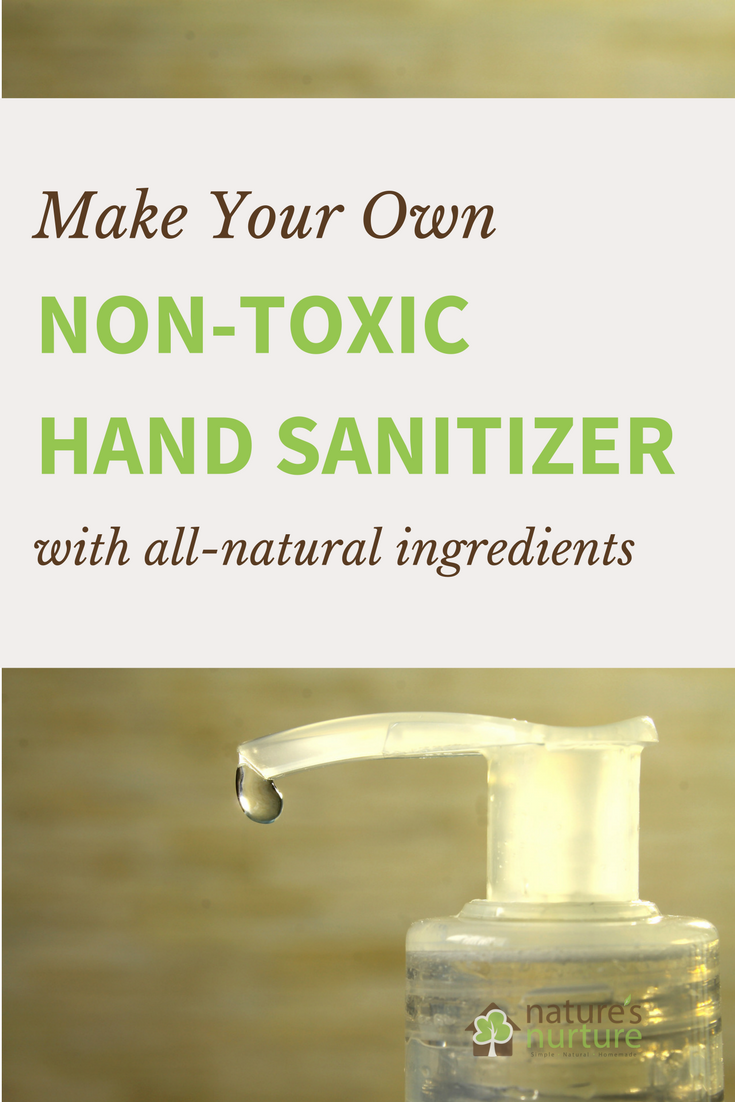 Most commercial hand sanitizers contain harsh chemicals like artificial fragrances and stabilizers. Make your own homemade hand sanitizer with essential oils!