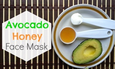 Natural Skin Care: Avocado Honey Face Mask