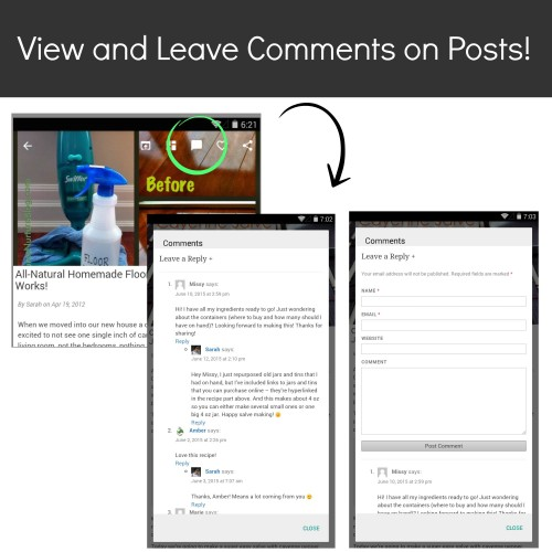 Comments Screenshot-Droid