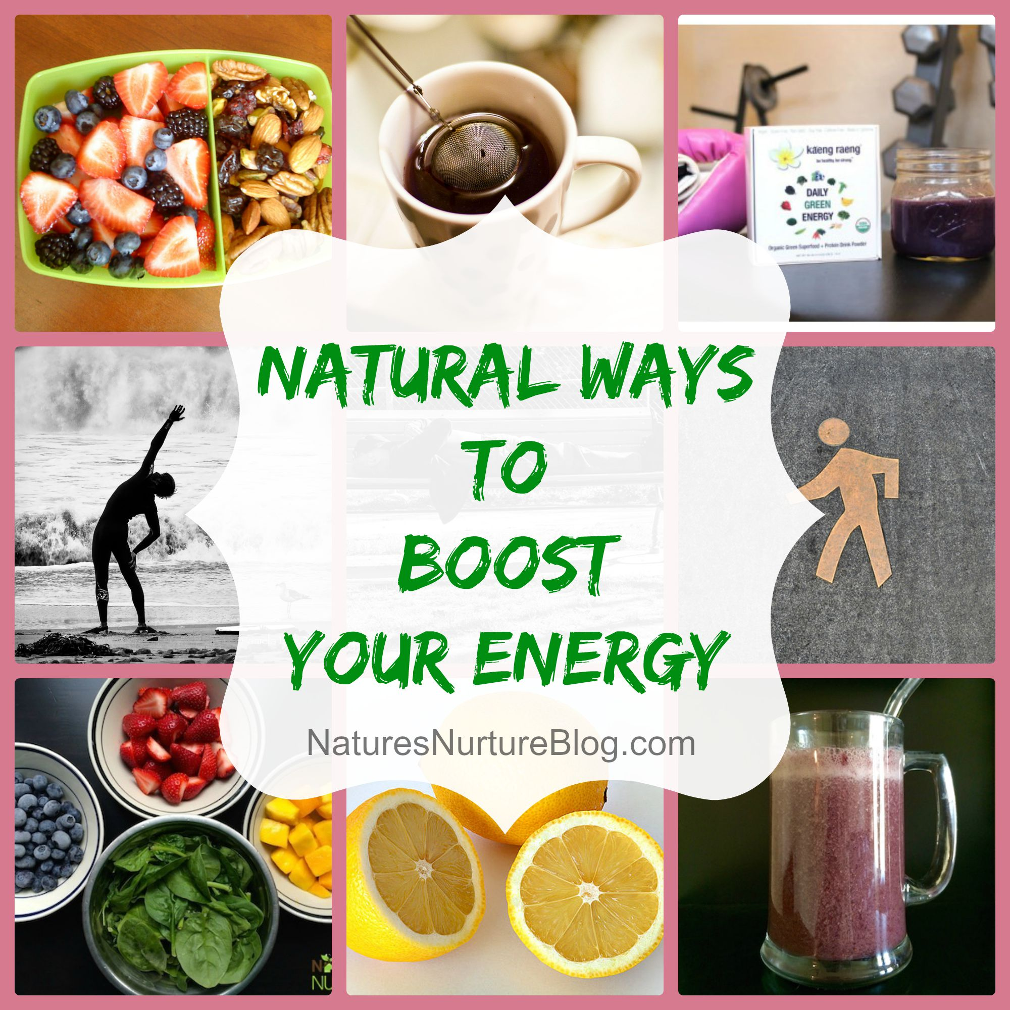 5 Natural Ways to Boost Your Energy Levels | Helpful hints ... |Natural Ways Energy