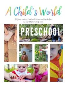 nature curriculum cover