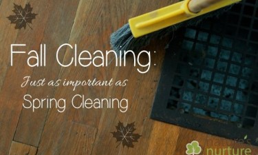 Fall Cleaning Important Like Spring Cleaning
