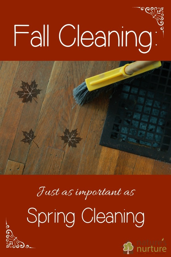 Fall Cleaning Is Just As Important As Spring Cleaning