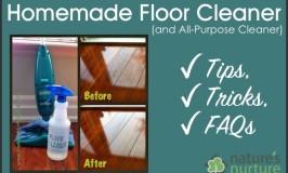 Homemade Floor Cleaner – Tips, Tricks and FAQs