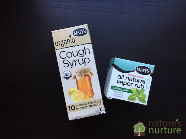 Maty's Healthy Products - Cough Syrup and Chest Rub