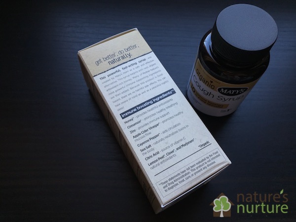 Maty's Healthy Products - Cough Syrup