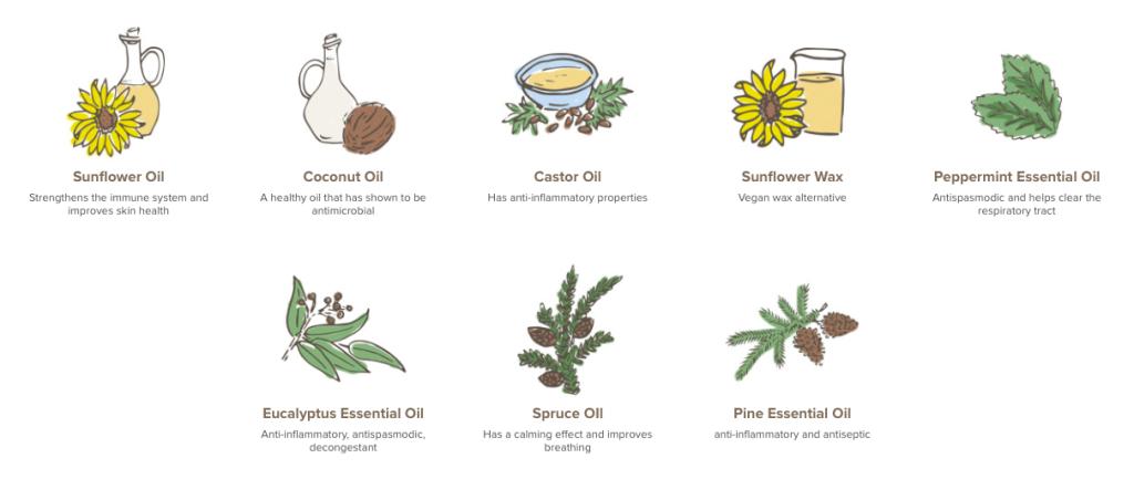 Maty's Vapor Rub Ingredients