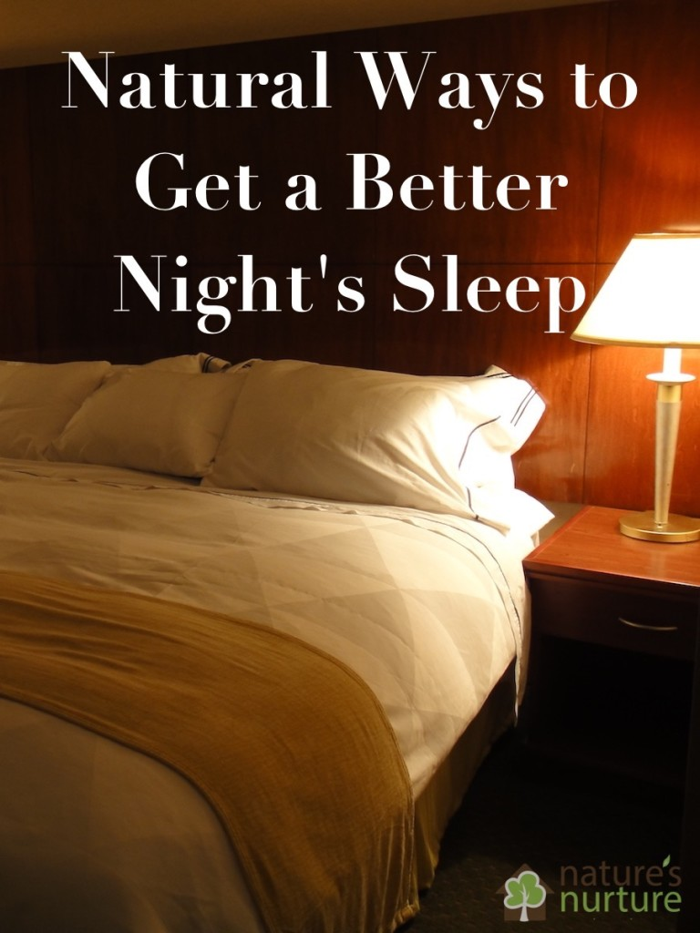 Natural Ways to Get a Better Night's Rest