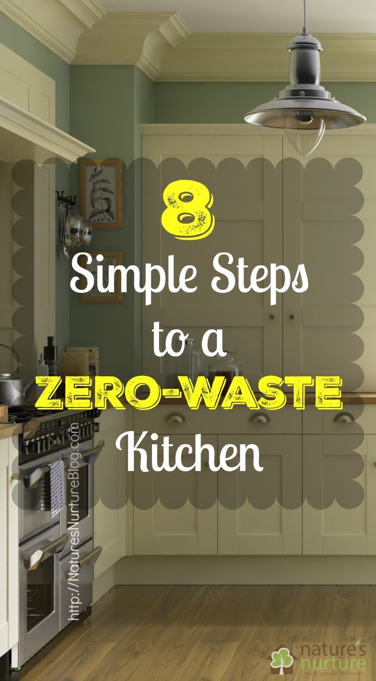 Try these stupid simple steps to a zero waste kitchen, and drastically reduce your kitchen waste!