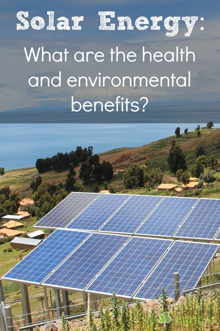 Solar energy benefits Benefits of going solar