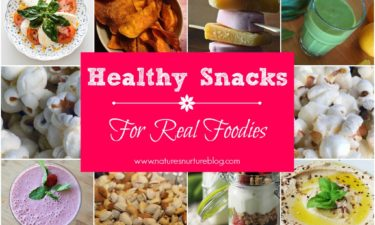 Healthy Snacks Recipes For Real Foodies