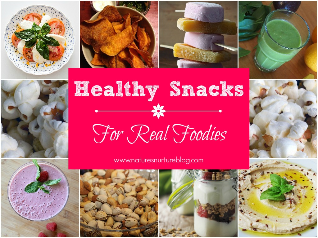 A collection of healthy snacks ideas and recipes to help you beat the afternoon slump and keep you feeling satisfied, instead of grabbing for the chips.