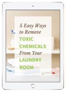 Ditch the fabric softeners and dryer sheets, and use these simple, alternatives to naturally freshen your laundry and create a non-toxic laundry room.