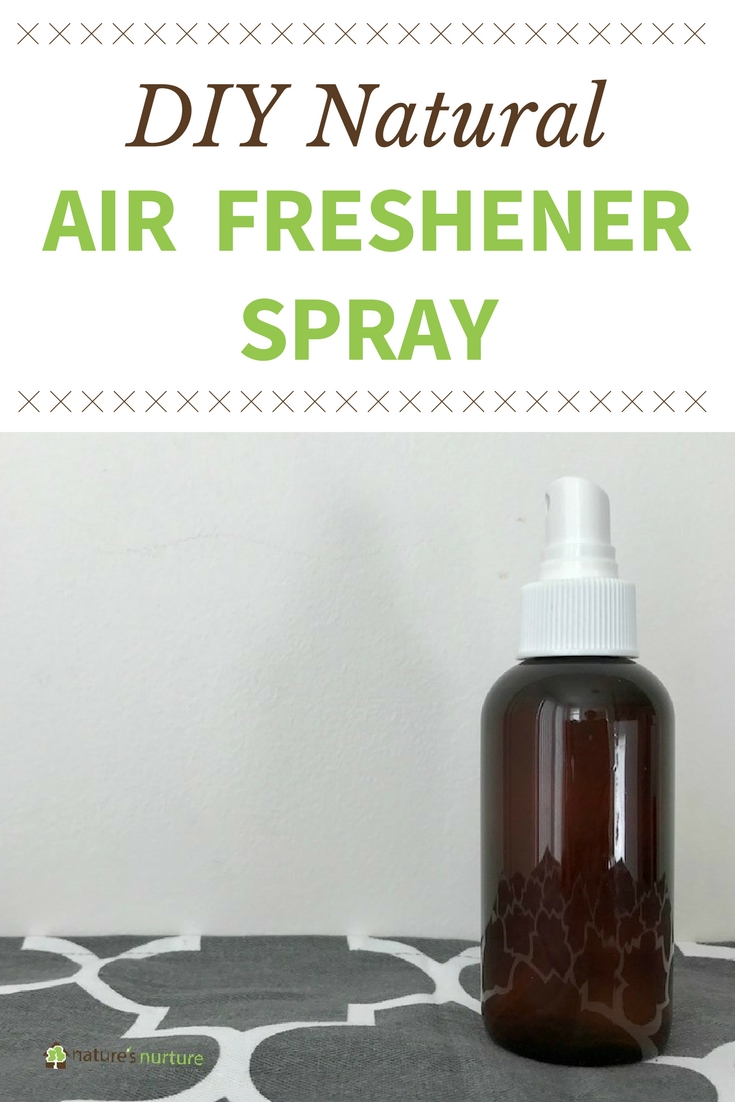 Make your own natural air freshener spray with simple, non-toxic ingredients. A much safer alternative to the harmful chemicals found in regular air fresheners!