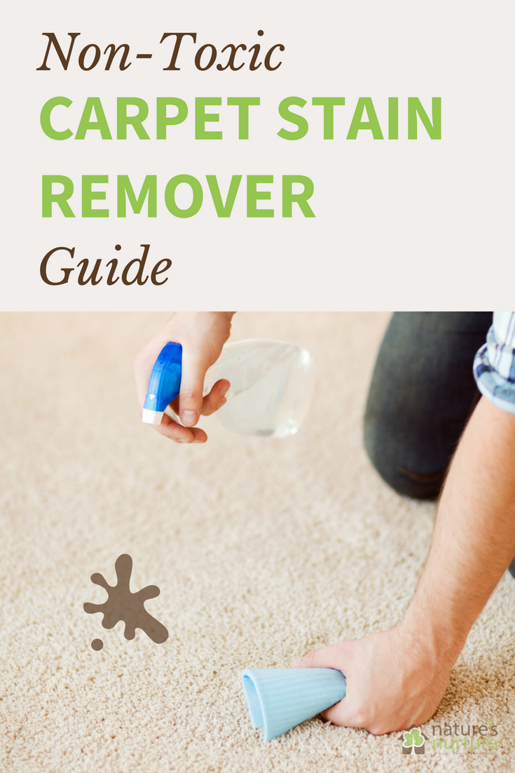 Non Toxic Carpet Stain Remover Guide For Almost Any