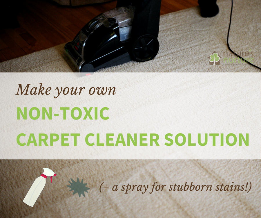 Tackle Stubborn Carpet Stains With This Non Toxic Homemade Cleaner Solution For Your Machine