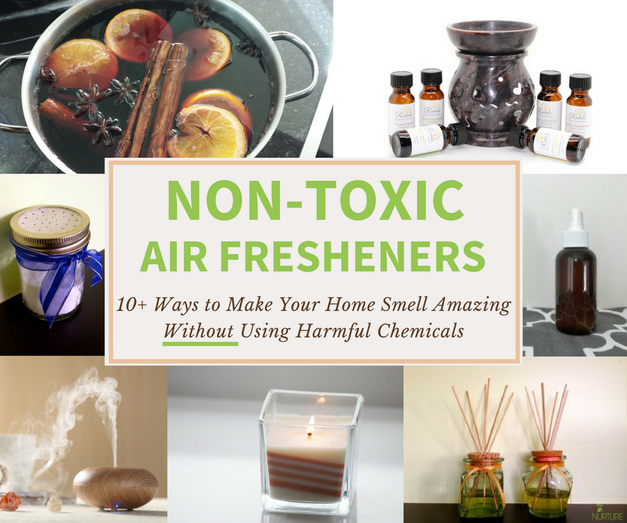 Non-Toxic Air Fresheners: Safer Alternatives That Work! | Nature's