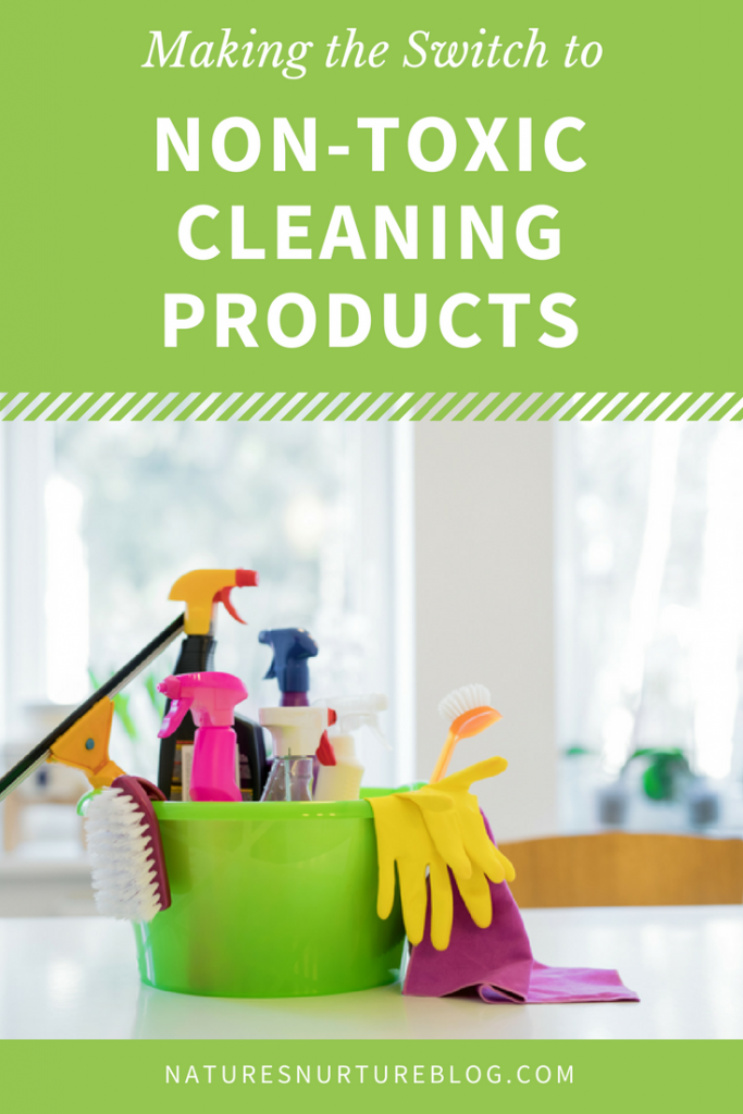 Switching to non-toxic cleaning products doesn't have to be overwhelming! Follow these small, simple steps, and you'll see just how easy it can be!