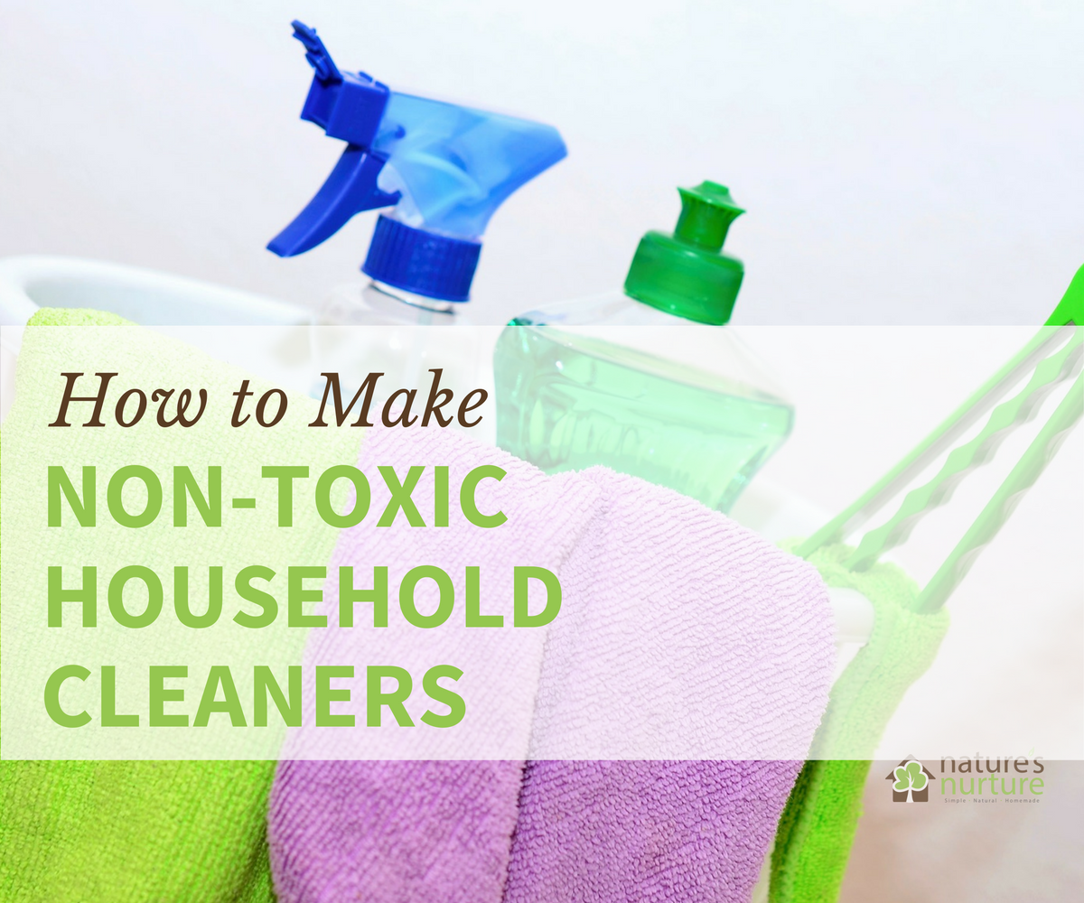 The Beginner S Guide To Making Your Own Homemade Non Toxic Household Cleaners Rid