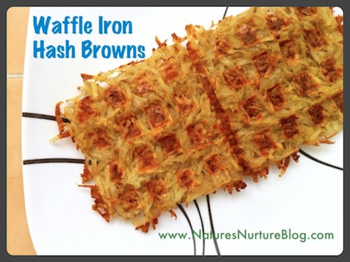 waffle iron hash browns